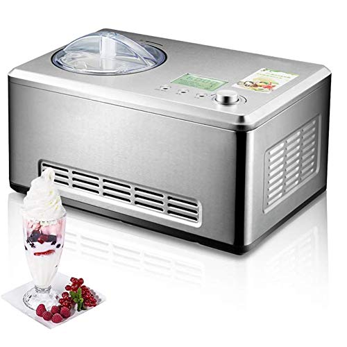 Best Price Household Electric Ice Cream Machine, Automatic Cooling Low Decibel Frozen Sorbet Machine...