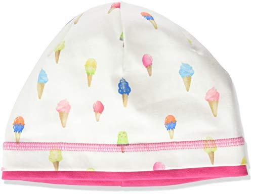 maximo Baby-Mädchen Jerseymütze Mütze, Mehrfarbig (Ecru-bunt-eistüten 18), (Herstellergröße: 49)