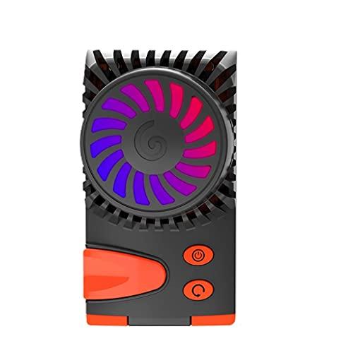 YUTRD ZCJUX Universal Mobile Cooler Cooler Portable Gaming Fan Fin de Calor Radiador Celular Teléfono para teléfonos móviles al Aire Libre Accesorios