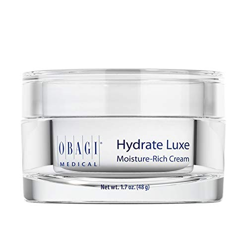 Obagi Hydrate Luxe Moisture-Rich Cream, 1.7 oz Pack of 1 - Hydrating Face Lotion with Shea Butter - Ultra-Rich Moisturization Night Face Cream for Dry Skin, Sensitive Skin, Aging Skin