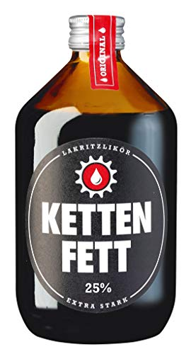 Kettenfett Lakritz Likör 0,5 Liter Kanne