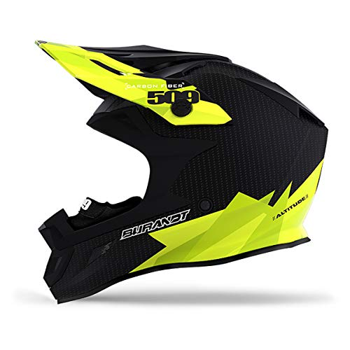 509 Altitude Carbon Fiber Helmet with Fidlock (Black Ops - Large)