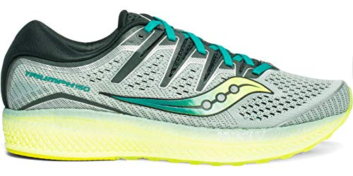 Saucony Men's S20462-37 Triumph ISO 5 Running Shoe, Frost | Teal - 10.5 M US