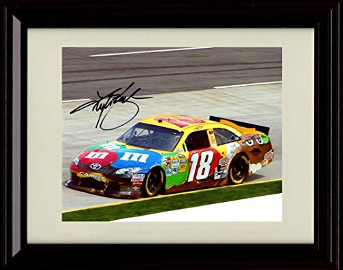 Kyle Busch NASCAR Auto Racing Framed 8x10 Photograph Collage