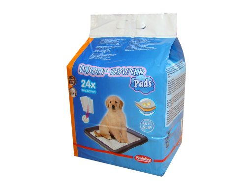 Nobby Doggy Trainer Pads 24 St., M - 62,5 x 48 cm