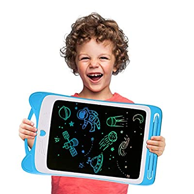 LODBY Drawing Sketch Pad for Kids Age 2-6 Year Old Boys Gifts, LCD Writing Tablet for Educational Toys for 2-8 Year Old Boy Birthday Gifts, Electronic Drawing Board for Toddler Boys Toys Age 2-8