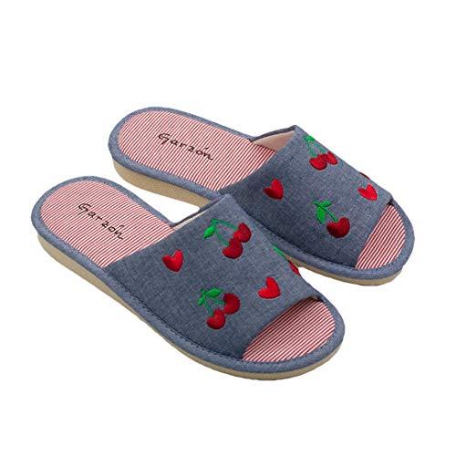 GARZON - Damen-Sneaker, offene Kirsche, Farbe: Indigo, Größe: 40