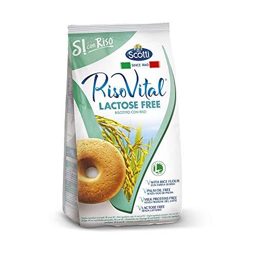 Riso Scotti Si con Riso - Vital Reiskeks - Laktosefreie Reiskekse, ohne Palmöl - 350 gr