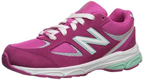 New Balance 888 V2 Lace-Up Running Shoe, Carnival/Light Reef, 13 Wide US Unisex Little_Kid