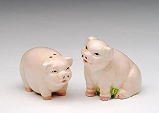 1.5 Inch Standing and Sitting Mini Pig Salt and Pepper Shaker Set