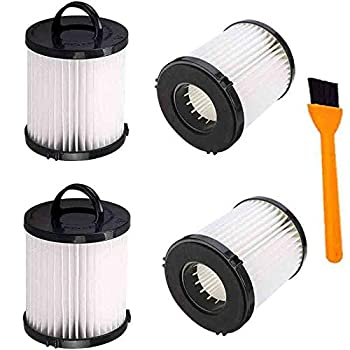 Hongfa Replacement Eureka DCF21 Vacuum Filter ,4 Pack Dust Cup Filters for Eureka AS1000 AS1040 3270 3280 4230 4240 8810 8860 Upright Vacuums,Compare to Part # 67821 68931 68931A EF91 DCF-21