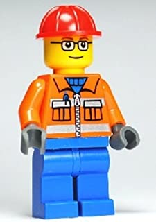 Construction Worker Lego Minifigure #5