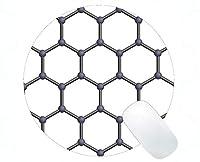 化学調理賭博の円形のマウスパッド、グラフェンゴムの円形のマウスパッド