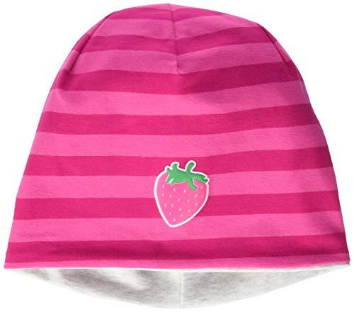 maximo Mädchen Jerseymütze Mütze, Mehrfarbig (Sun Pink/Dunkelpink 405), (Herstellergröße: 53)
