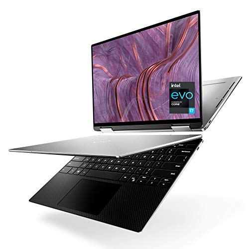 Dell XPS 2in1 9310, 13.4 inch FHD+ Touch Laptop, Intel Core i7-1165G7, 32GB 4267MHz LPDDR4x RAM, 512GB SSD, Intel Iris Xe Graphics, Windows 10 Home - Platinum Silver with Black Palmrest (Latest Model)