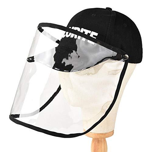 WZJAM Sombrero Antivaho Gorra Protectora Gorra De Béisbol De Alta Permeabilidad PVC Fácil De Llevar-C