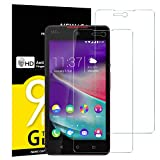 NEW'C Lot de 2, Verre Trempé pour Wiko Rainbow Lite 4G, Film Protection écran -...