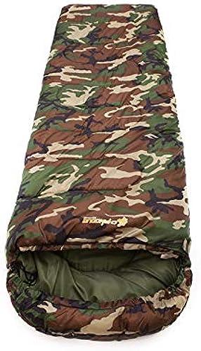 Xinsushp Home Sac de Couchage Sale extérieur Plein air pour Camping portable Voyage de Camouflage Adulte Adulte