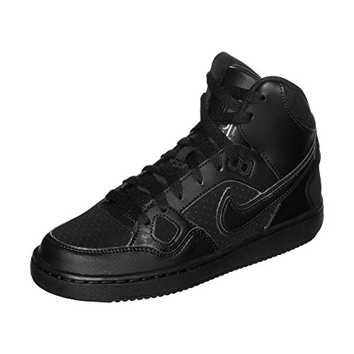 Nike Son of Force Mid (gs) Basketballschuhe, Schwarz (Black/Black 021), 37.5 EU