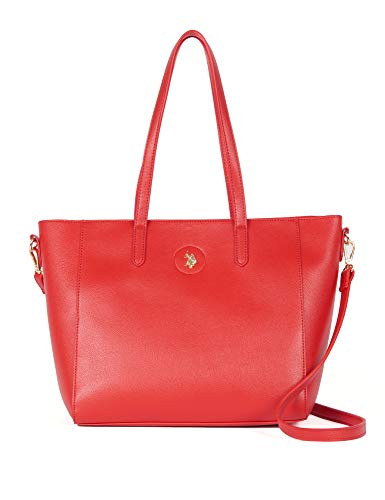 U.S. POLO ASSN. Shopping Bag Jones Red