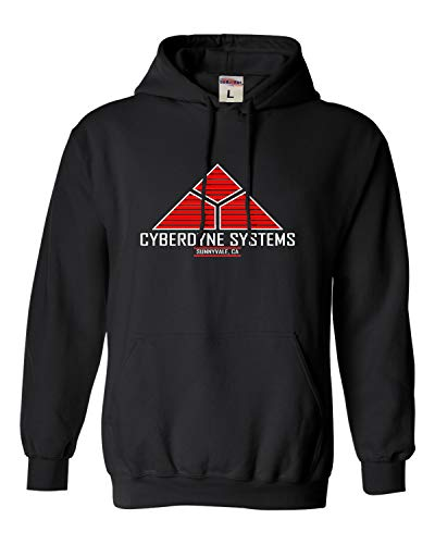 Adult Cyberdyne Systems Terminator Hoodie, 7 Colors, S to 4XL