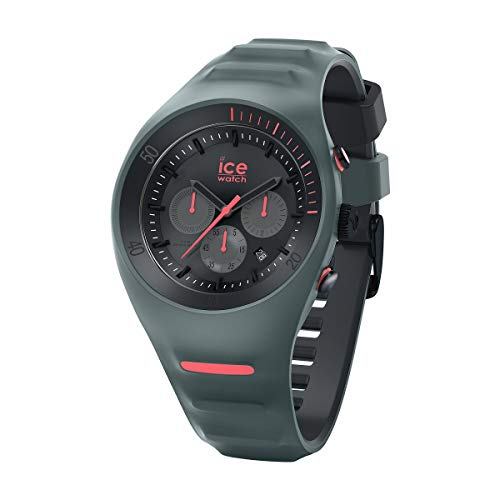 Ice-Watch - P. Leclercq Slate - Reloj verde para Hombre con Correa de silicona - Chrono - 014947 (Large)