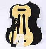 1set Violin template Stradivari model Violin neck F hole templet Mold 1715 year DIY Violin Luthier Supply