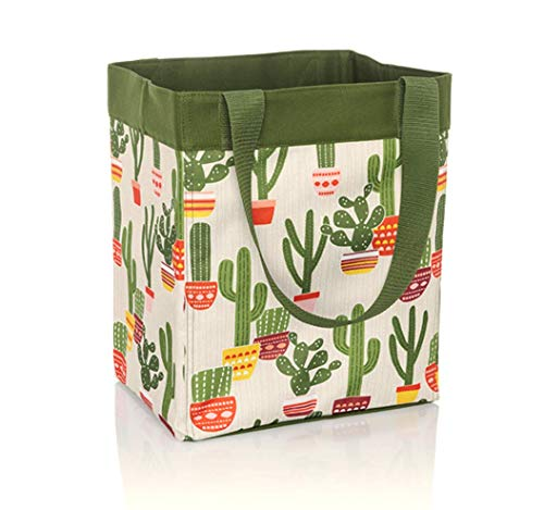 Thirty One Essential Storage Tote - 4446 - No Monogram - in Cactus Cuties