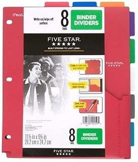 five star pocket dividers