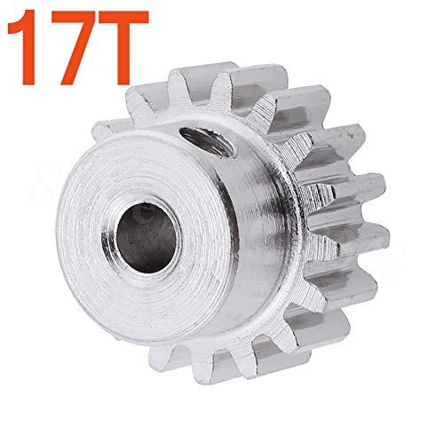 CCH-Ingranaggi 1 pz 1:10 17T Motor Gear No.7356 Ricambi Originali for ZD Racing 10421-S 10423-S 10427-S
