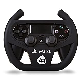 Playstation 4 Officially Licensed Compact Racing Wheel (PS4) (B00F63QTZQ) | Amazon price tracker / tracking, Amazon price history charts, Amazon price watches, Amazon price drop alerts