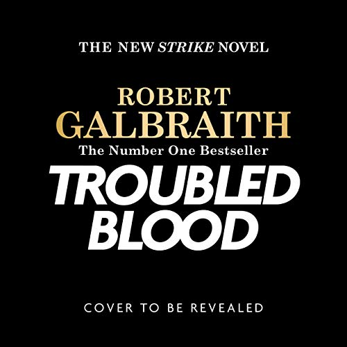 Troubled Blood audiobook cover art