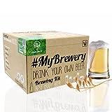 #Cervezanía Kit per fermentazione Birra Artigianale   Ricetta Biologique Pilsen Ale   5 Litri   Malto macinato e Luppolo Fresco   La Tua Birra a casa