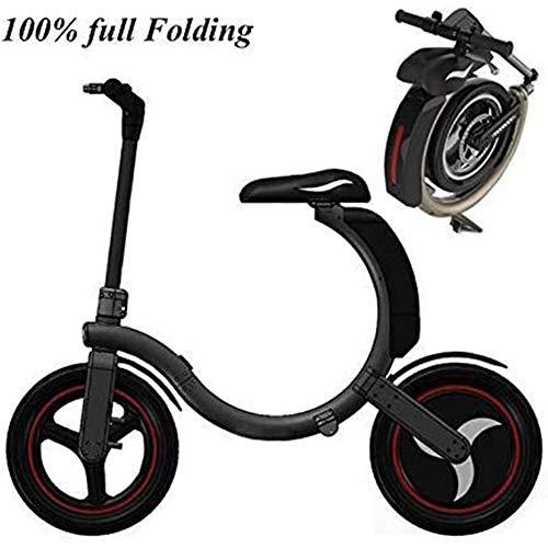 Mini Bicicletta Elettrica Pieghevole 350 W Motore - Velocità 30 Km/H - Carico 100 Kg - Chilometraggio massimo 30 Km - Batteria al Litio
