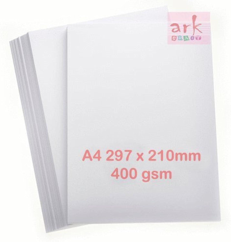 A4 weiß Karte Karte Karte 400 gsm (Vision Superior) 100 Blatt SUPER Dick B01NCLWCOX | Meistverkaufte weltweit  cdb765
