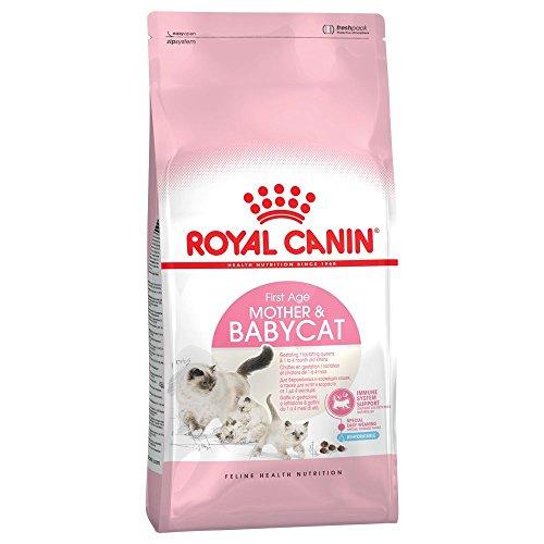 Royal Canin Mutter und Babycat Katzenfutter für ausgewachsene Katzen, 4 x 400 g