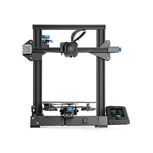 Large Size Stampante 3D, FDM Riprendi Funzione di Stampa Maker con Storage Tool Box e Display per Industrial School Education 220 * 220 * 250mm