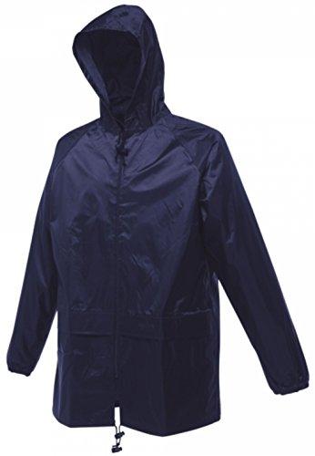 Regatta Stormbreak, Wasserfeste Regenjacke für Erwachsene, Unisex W408 Gr. xl, marineblau