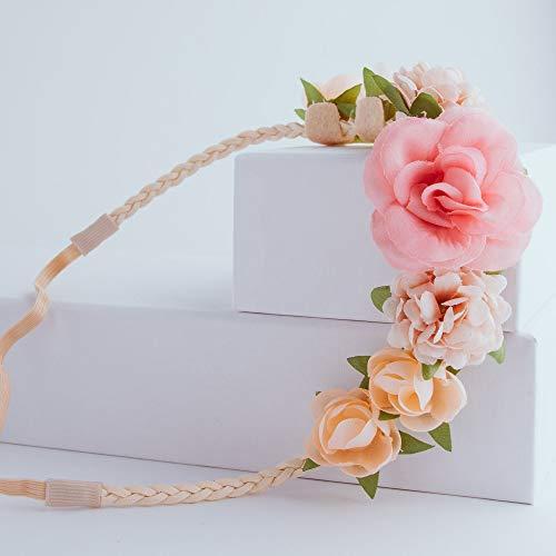 PARSA Beauty Cinta para el pelo con detalles de flores.