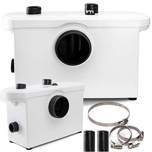 Preisvergleich Produktbild KESSER® Hebeanlage Kleinhebeanlage Fäkalienpumpe 600 Watt WC,  Dusche,  Waschbecken,  Abwasser Haushaltspumpe Sanitär