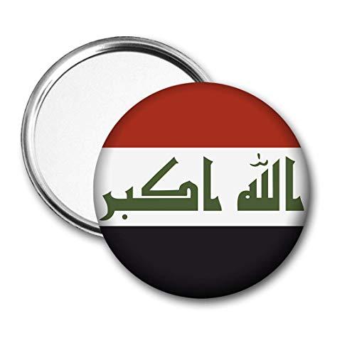 Irak Vlag Pocket Spiegel voor Handtas - Handtas - Gift - Verjaardag - Kerstmis - Stocking Filler - Secret Santa