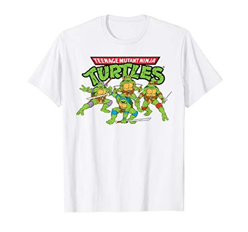 Nickelodeon Teenage Mutant Ninja Turtles TMNT Apparel T-Shirt