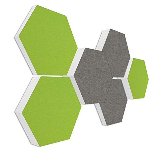 Schallabsorber 3D-Set