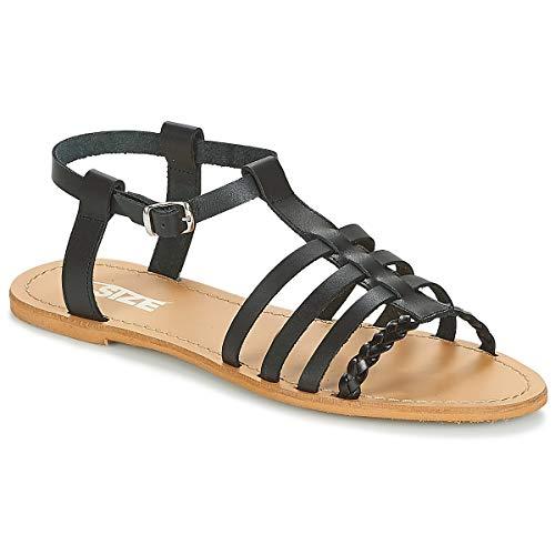 so size Milagro Sandals Women Black - 9.5 - Sandals Shoes