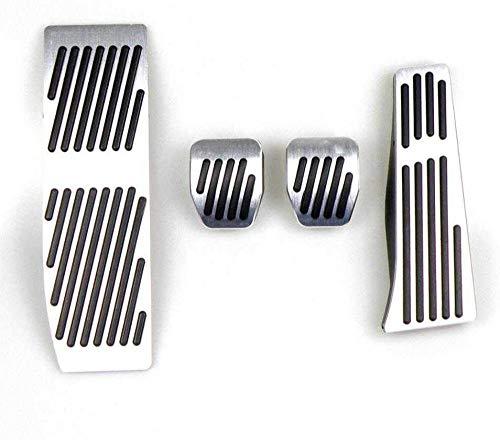 AT/MT Frizione per Auto Pedale Freno a Gas Pedaliera Adatta, per BMW Serie 1 3 E46 E90 E91 E92 E93 E87 E88-_4 Pezzi