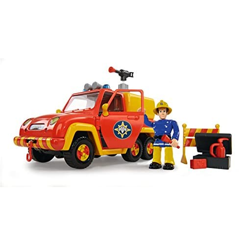Simba Toys 109251054 - Auto dei Pompieri con Personaggio in Miniatura