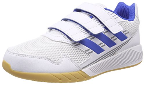 adidas Unisex-Kinder Altarun CF K Fitnessschuhe, Weiß (Ftwbla/Azul/Grimed 000), 29 EU