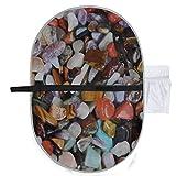 Cuscinetti per pannolini per pietre colorate lucidati natura per fasciatoi per pannolini d...