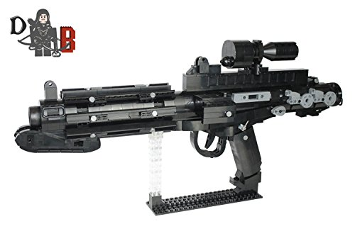Demonhunter Bricks Star Wars Custom Stormtrooper E-11 Blaster Gewehr von Return of The Jedi unter Verwendung Lego Teile