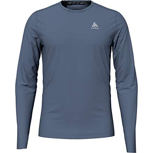 Odlo Herren T-Shirt l/s Crew Neck F-Dry, China Blue, S